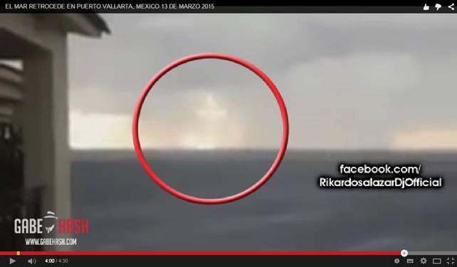 Mare anomalo in Messico, le acque si ritirano a Puerto Vallarta