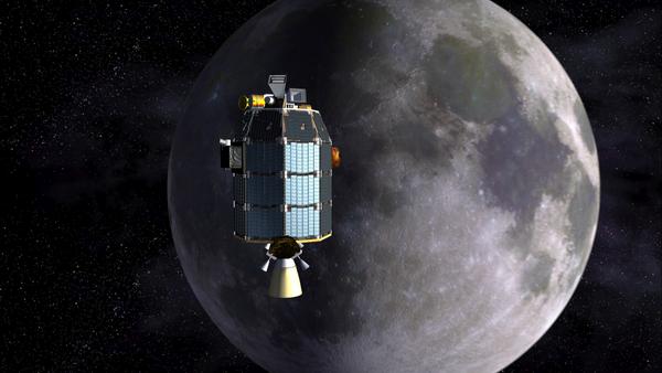 Il laser lunare. Utilizzerà fasci di luce infrarossa
