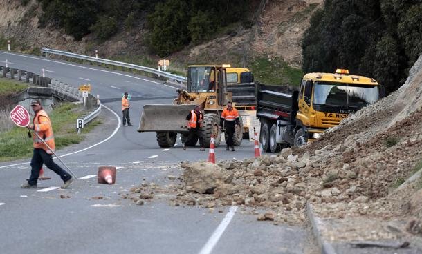 Nuova Zelanda, forte scossa magnitudo 6.5