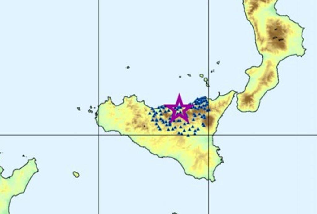 Terremoto in Sicilia: 17 scosse oggi tra Messina e Palermo