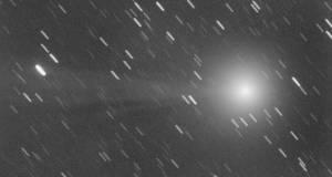 la cometa C/2014 Q2 Lovejoy fotografata dall'Italia da Gianluca Masi e Pier Luigi Catalano (fonte: Pier Luigi Catalano e Gianluca Masi/Virtual Telescope)