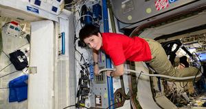 Samantha , vivo un torrente di emozioni (fonte: ESA,NASA)