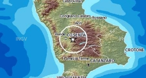 Scossa di terremoto nel Cosentino: epicentro in Sila, magnitudo 4.4