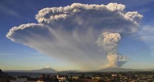 L'eruzione del vulcano Calbuco