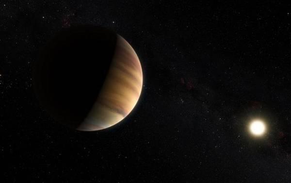 Rappresentazione artistica del pianeta 51 Pegasi b, (fonte: ESO/M. Kornmesser/Nick Risinger (skysurvey.org)