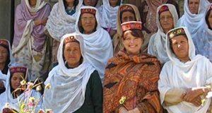Un gruppo di donne Hunza
