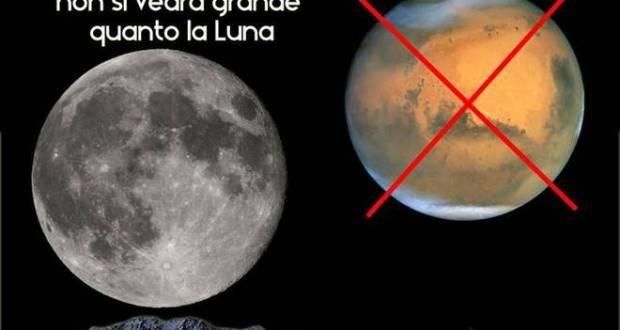 """La """"bufala"""" estiva di Marte visibile più grande della Luna: tra i primi a smascherarla quelli dell'Osservatorio di Perinaldo"""