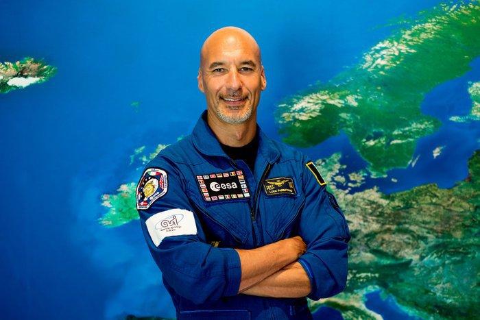 L'astronauta Luca Parmitano (fonte: ESA–Manuel Pedoussaut, 2016)