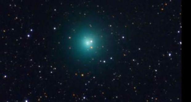 La cometa PanStarrs C/2017 S3 (fonte: Adapt 2030)