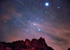 Orionidi: arrivano le meteore d'autunno