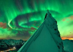 Lo spettacolo delle Aurore Polari, un dono del Sole alla Terra