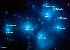 PLEIADI: l'ammasso stellare dal mito alla scienza