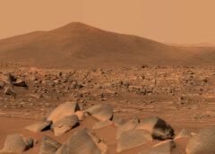 Marte, in azione il braccio robotico del rover Perseverance